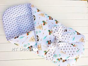 Textil - Zavinovačka, perinka pre bábätka - 9888746_