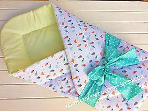 Textil - akcia - ZAVINOVAČKA -PERINKA pre najmneších - 9888822_