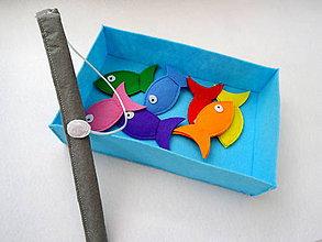 Hračky - Magnetické rybky - rybolov - 9891326_