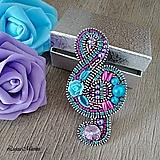 Odznaky/Brošne - Husľový kľúč - 9890876_