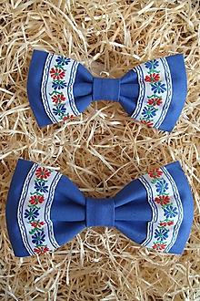 Doplnky - Folk motýlik-otec a syn set - 9894980_