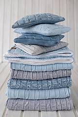 Textil - Deky (Modrá) - 9895784_