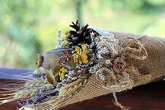 Dekorácie - Kvetinový kornútok, zľava !!! - 9892853_