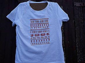 Detské oblečenie - Čičmany,folk Tshirt - 9893228_
