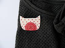 Odznaky/Brošne - ,,Mačka-cifrovaná, domáca..,, - 9893613_