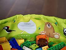 """Iné tašky - Hračkovak Zvieratká veľký """"L"""" - 9893054_"""