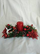Dekorácie - Vianocny aranzman - 9893104_