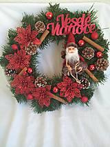 Dekorácie - Vianocny veniec ,,2,, - 9894140_
