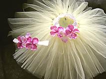 Detské oblečenie - Tutu suknička Flatter shy - 9895051_