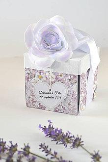 Papiernictvo - Svadobný exploding box vintage - 9895601_