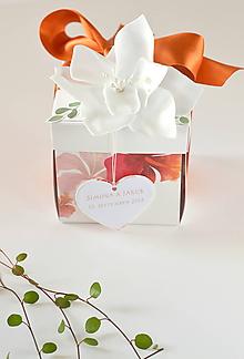 Papiernictvo - Svadobný exploding box - 9895611_