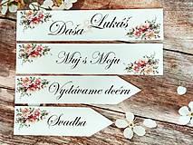 Tabuľky - Svadobná tabuľka na auto - špz 27 - 9894370_