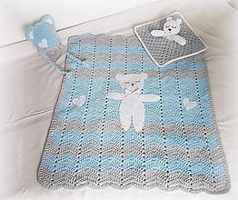 Textil - Detská deka MEDVEDÍK - 9893360_
