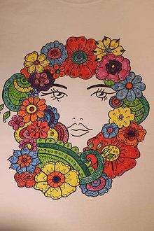 Tričká - Tričko Kvetoslava veľkosť M - 9892233_