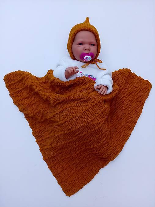 89412b4a8b4 Detská pletená deka   HankineHabky - SAShE.sk - Handmade Textil