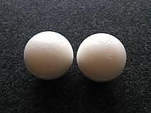 Polotovary - polystyrénová guľa 6cm - 9892823_