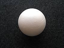 Polotovary - polystyrénová guľa 10cm - 9892843_