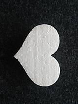 Polotovary - polystyrénové srdce 10cm - 9892875_