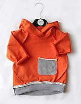 Detské oblečenie - Mikina s kapucňou Jomar - 9895482_