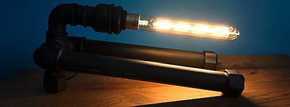 Svietidlá a sviečky - Stolná lampa 2v1 - 9894495_