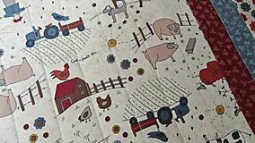 Úžitkový textil - Na dedine ... prestieranie 2 ks - 9897422_