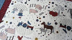 Úžitkový textil - Na dedine ... prestieranie 2 ks - 9897424_