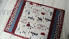 Úžitkový textil - Na dedine ... prestieranie 2 ks - 9898181_