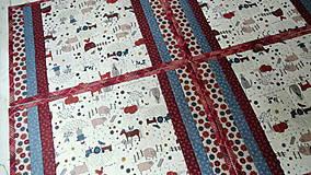 Úžitkový textil - Na dedine ... prestieranie 2 ks - 9898183_