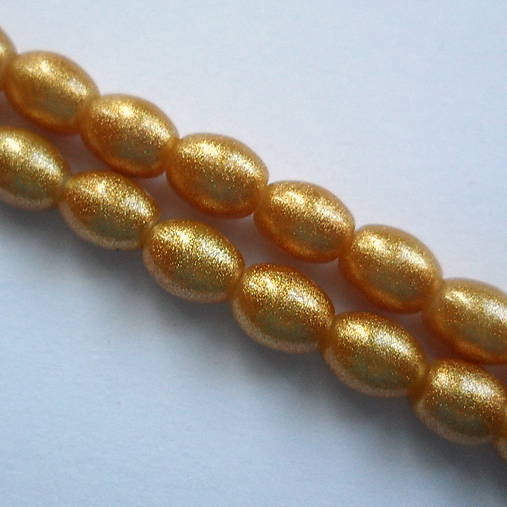 Gold Powder Metallic 6x8mm-10ks (zlatá)