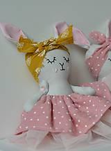 Hračky - zajka umelkyňa č.3 - 9896005_