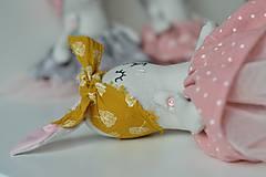Hračky - zajka umelkyňa č.3 - 9896007_