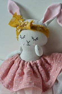 Hračky - zajka umelkyňa č.3 - 9896008_