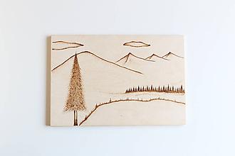 Obrazy - Drevená dekorácia/obraz