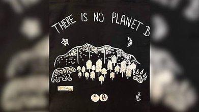 Iné tašky - ♥ Plátená, ručne maľovaná taška ♥ - 9898752_