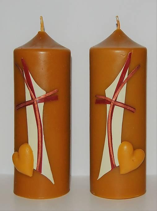 Sviečky z včelieho vosku na želanie