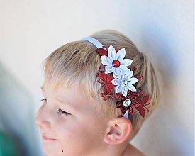 Ozdoby do vlasov - Elegantní čelenka do vlasů - 9898292_