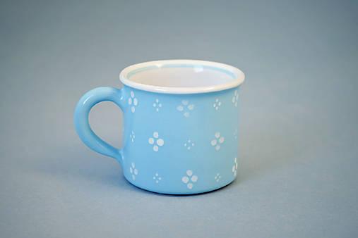 Espresso hrneček - sv. modrý