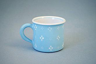 Nádoby - Kafáč espresso 4puntík 6 světle modrý - 9895826_