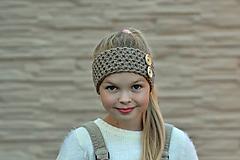 Detské čiapky - Natur čelenka - hneď - 9898148_