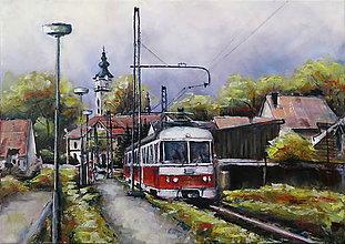 Obrazy - Zastávka Poprad-Veľká - 9897954_