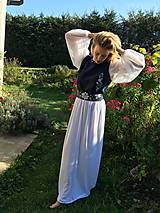 Šaty - Plesové ručne maľované šaty - 9897718_