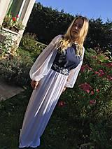 Šaty - Plesové ručne maľované šaty - 9897725_