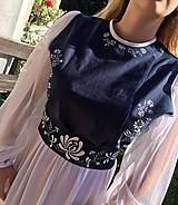 Šaty - Plesové ručne maľované šaty - 9897728_
