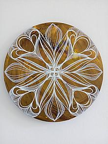 Obrazy - Mandala-lotosový kvet... - 9899591_