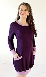 Tehotenské/Na dojčenie - 3v1 dojčiace TEPLÉ šaty, veľ. XS-M - viac farieb v ponuke - 9899087_
