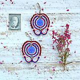 Náušnice - Oriental n.17 - sutaškové náušnice - 9899228_