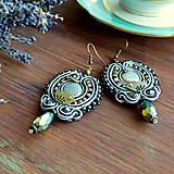 Náušnice - Oriental n.19 - sutaškové náušnice - 9899248_