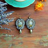 Náušnice - Oriental n.19 - sutaškové náušnice - 9899249_
