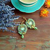 Náušnice - Oriental n.21 - sutaškové náušnice - 9899262_