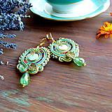 Náušnice - Oriental n.21 - sutaškové náušnice - 9899263_